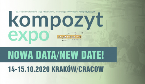 Komposite-Expo® 2020 will take place on new date!
