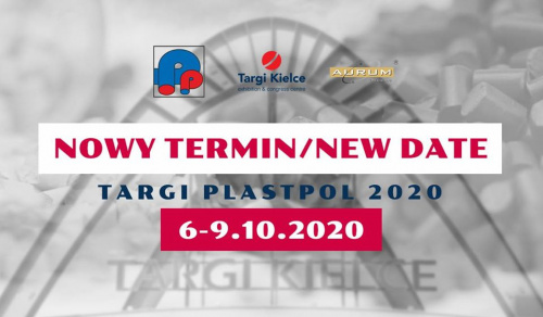 PLASTPOL Plastic and Rubber Industry Fair 2020 with new date.